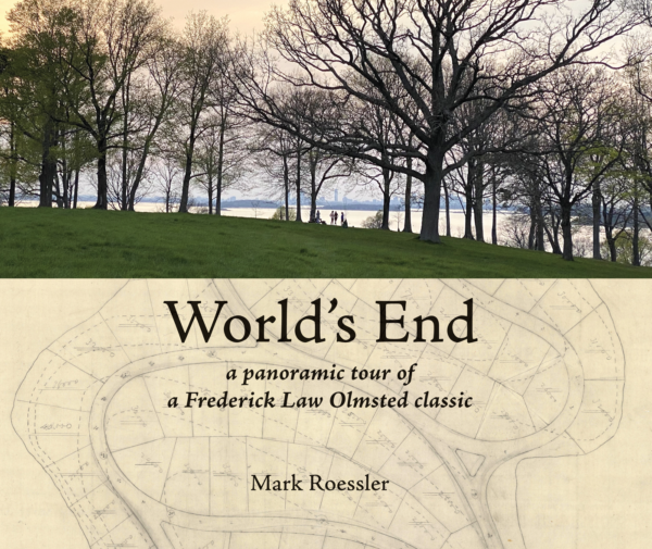 World's End front cover, photo of park and vintage map